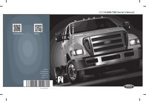 2015 Ford f-650 Owners Manual Free Download