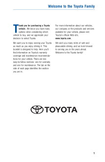 2015 Toyota 4runner Warranty And Maintenance Guide Free Download