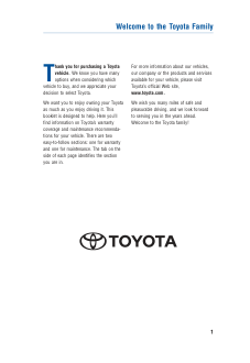 2015 Toyota Highlander Hybrid Warranty And Maintenance Guide Free Download