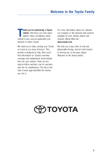 2015 Toyota Tacoma Warranty And Maintenance Guide Free Download