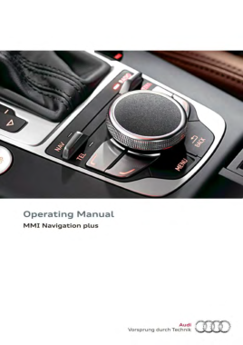 2016 Audi A3 S3 MMI Navigation plus Manual