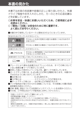 2016 Mazda Familia Van Owners Manual in Japanese