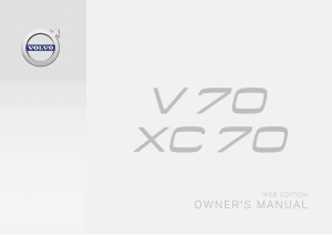 2016 Volvo V70 Owners Manual