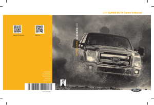 2016 Ford f-250 Super Duty Owners Manual Free Download
