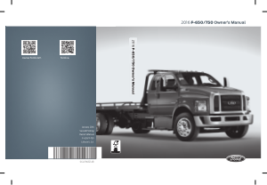 2016 Ford f-650 Owners Manual Free Download