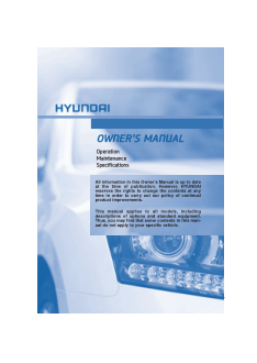 2016 Hyundai Equus Owners Manual Free Download
