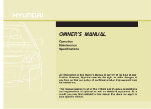 2016 Hyundai Santa Fe Owners Manual Free Download
