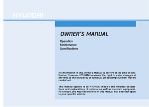 2016 Hyundai Tucson Owners Manual Free Download