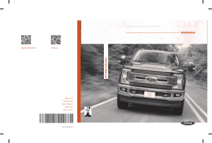 2017 Ford F 350 Owners Manual