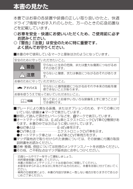 2017 Mazda Familia Van Owners Manual in Japanese
