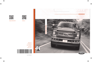 2017 Ford f-350 Super Duty Owners Manual Free Download