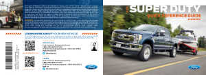 2017 Ford f-350 Super Duty Quick Reference Guide Free Download