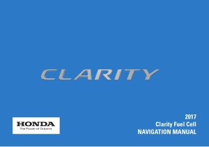 2017 Honda Clarity Fuel Cell Navigation Manual Free Download