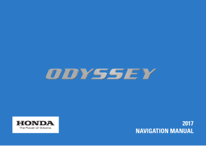 2017 Honda Odyssey Navigation Manual Free Download