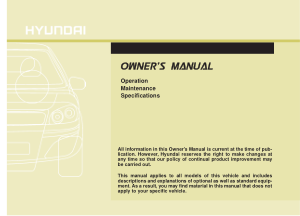 2017 Hyundai Azera Owners Manual Free Download