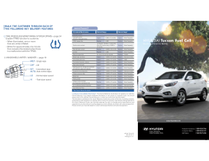 2017 Hyundai Tuscon Fuelcell Quick Reference Guide Free Download
