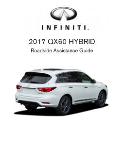 2017 Infiniti Usa qx60 Hybrid Roadside Assistance Guide Free Download