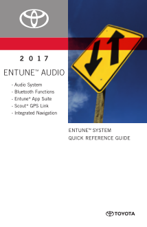 2017 Toyota Yaris Entune System Quick Reference Guide Free Download