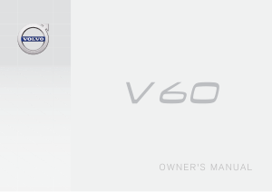 2018 Volvo V60 Owners Manual