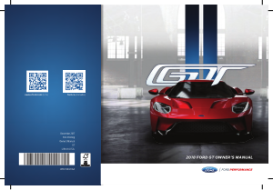 2018 Ford Gt Owners Manual Free Download