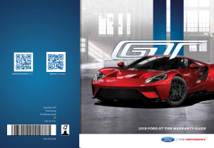 2018 Ford Gt Tire Warranty Guide Free Download