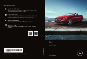 2019 Mercedes Benz SLC Operator Manual