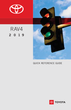 2019 Toyota RAV4 Quick Reference Guide