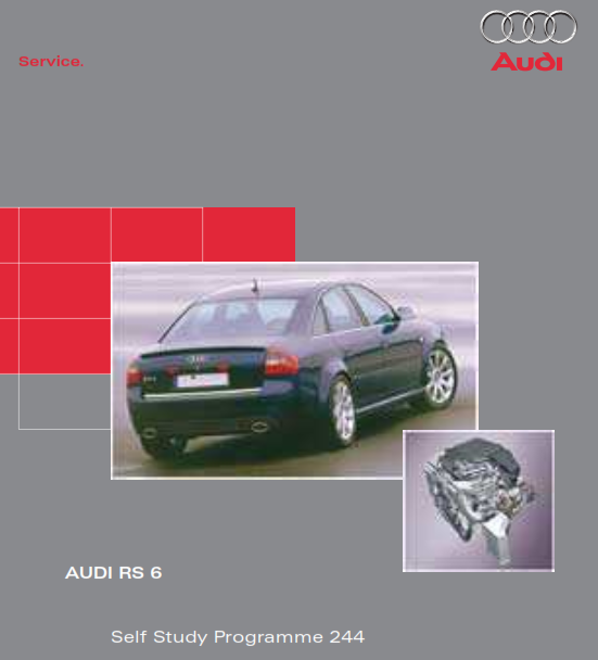2019 Audi Rs 6 Self Study Programme Service Manual Free Download