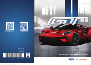 2019 Ford Gt Tire Warranty Guide Free Download