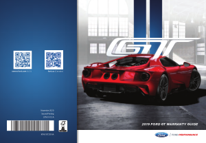 2019 Ford Gt Warranty Guide Free Download