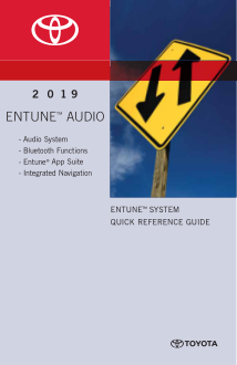 2019 Toyota Highlander Entune Audio System Quick Reference Guide Free Download