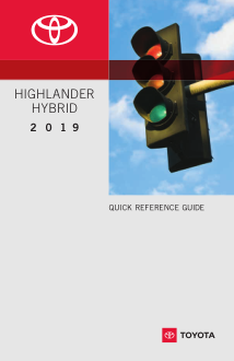 2019 Toyota Highlander Hybrid Quick Reference Guide Free Download