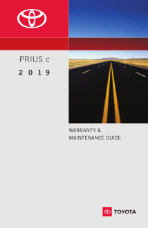 2019 Toyota Prius C Warranty And Maintenance Guide Free Download