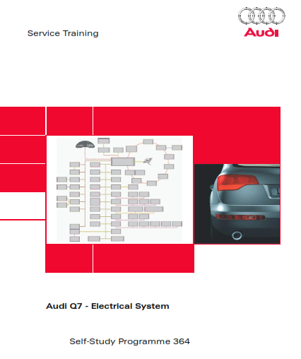 2020 Audi q7 Electrical System Self Study Programme Service Manual Free Download