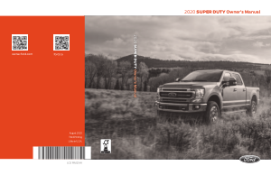 2020 Ford f-550 Super Duty Owners Manual Free Download