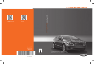 2020 Ford Fusion Owners Manual Free Download