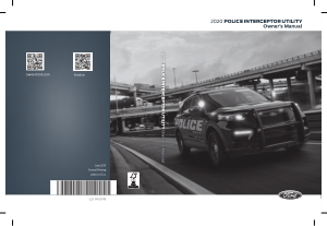 2020 Ford Police Interceptor Utility Owners Manual Free Download