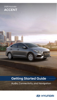 2020 Hyundai Accent Getting Started Guide Free Download