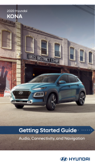 2020 Hyundai Kona Getting Started Guide Free Download