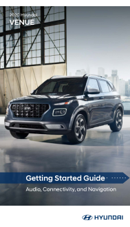 2020 Hyundai Venue Getting Started Guide Free Download