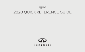 2020 Infiniti Usa qx60 Quick Reference Guide Free Download