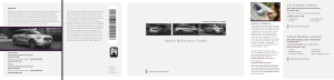 2020 Lincoln Aviator Hybrid Quick Reference Guide Free Download