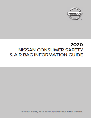 2020 Nissan Altima Consumer Safety And Air Bag Information Guide Free Download