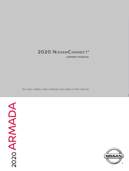 2020 Nissan Armada Connect Navigation Owner Manual Free Download