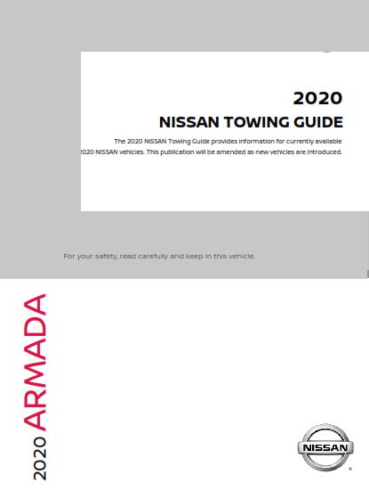 2020 Nissan Armada Towing Guide Free Download