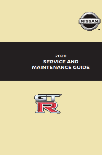 2020 Nissan Gtr Service Maintenance Guide Free Download