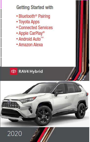 2020 Toyota rav4 Hybrid Getting Started With Audio Multimedia Free Download