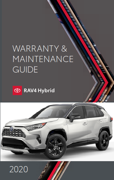 2020 Toyota rav4 Hybrid Warranty And Maintenance Guide Free Download