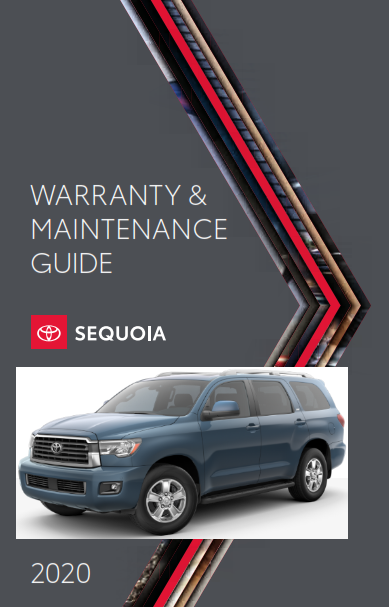 2020 Toyota Sequoia Warranty And Maintenance Guide Free Download