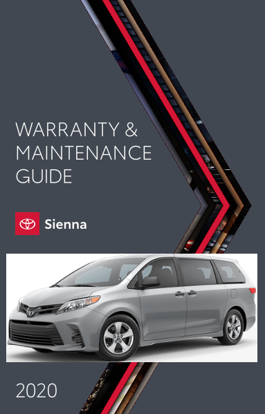 2020 Toyota Sienna Warranty And Maintenance Guide Free Download